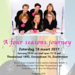 Poster A four seasons journey (18 Maart 2017)