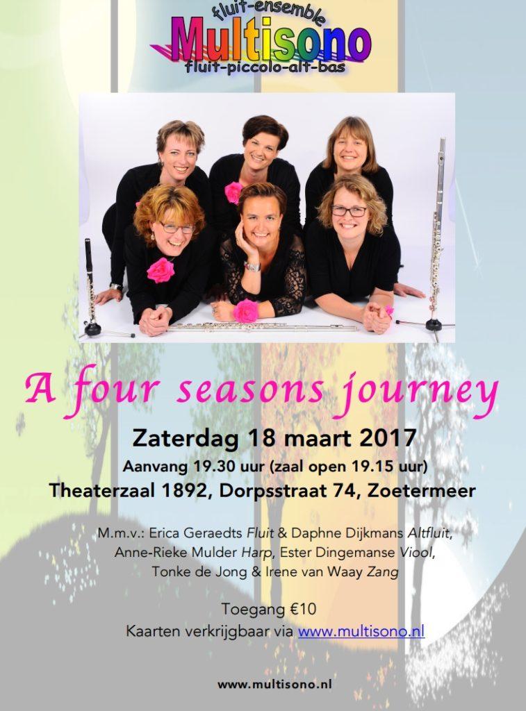 Poster A four seasons journey (18 Maart 2017)